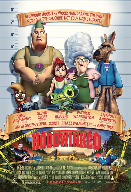 a report on the 2005 animated film hoodwinked More reports all movies in theaters coming soon new to dvd 2005: critic score when compared to today's visual standards for animated films, hoodwinked is.